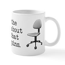 Job Chair Spins Small Mugs