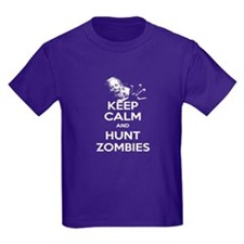 Keep Calm and Hunt Zombies T