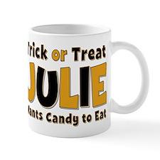 Julie Trick or Treat Mug