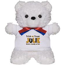Julie Trick or Treat Teddy Bear