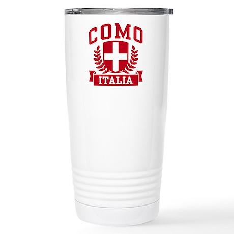 Como Italia Stainless Steel Travel Mug