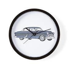 1953 car Wall Clock