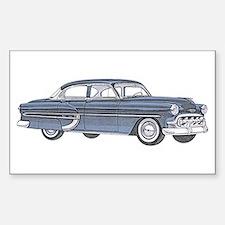 1953 car Decal