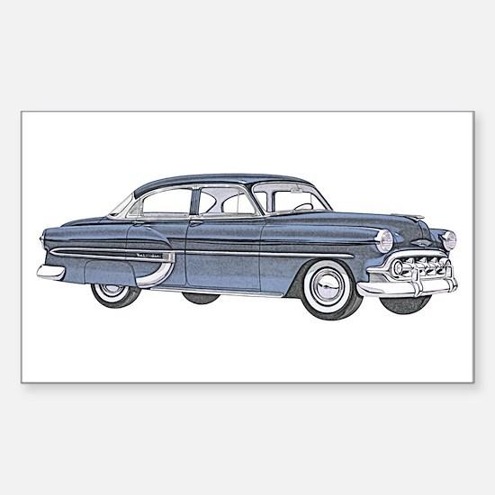 1953 car Sticker (Rectangle)
