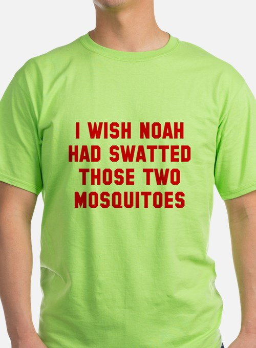 Noah Swatted Two Mosquitoes T-Shirt