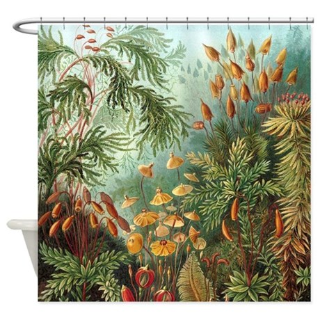 nature scene art shower curtain by ellesgifts