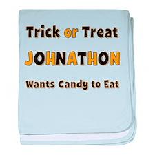 Johnathon Trick or Treat baby blanket