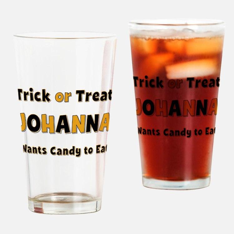 Johanna Trick or Treat Drinking Glass