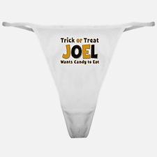 Joel Trick or Treat Classic Thong
