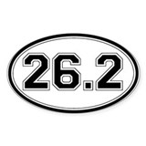 Bumper sticker 26.2 10 Pack