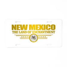 New Mexico Flag Aluminum License Plate