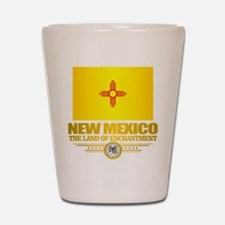 New Mexico Flag Shot Glass