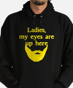 Ladies Eyes Up Here Hoodie