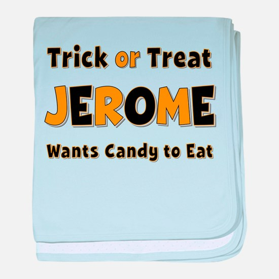 Jerome Trick or Treat baby blanket