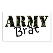 Army Brat Rectangle Bumper Stickers