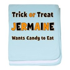 Jermaine Trick or Treat baby blanket