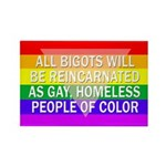 All Bigots Rectangle Magnet (10 pack)