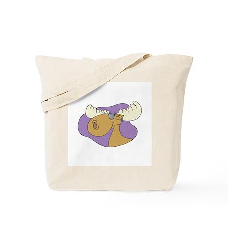 Moose In Shades Tote Bag