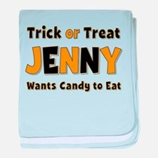 Jenny Trick or Treat baby blanket