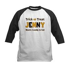 Jenny Trick or Treat Baseball Jersey