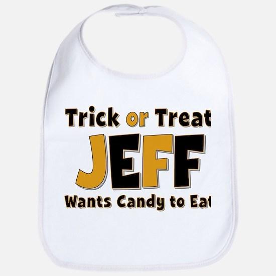 Jeff Trick or Treat Bib