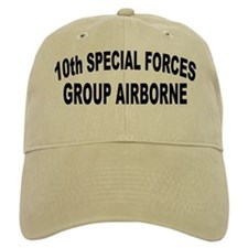 10TH SPECIAL FORCES GROUP AIRBORNE Baseball Cap