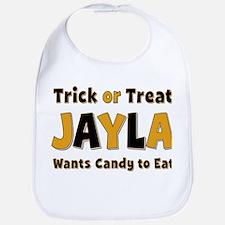 Jayla Trick or Treat Bib