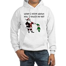 Touch My Elf Jumper Hoody