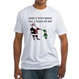 Funny christmas Fitted Light T-Shirts