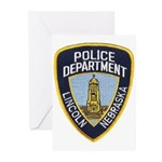 Lincoln Police Greeting Cards (Pk of 10)