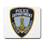 Lincoln Police Mousepad