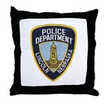 Lincoln Police Throw Pillow