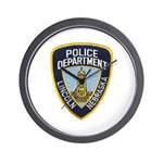 Lincoln Police Wall Clock