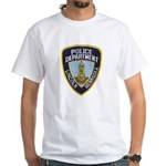 Lincoln Police White T-Shirt