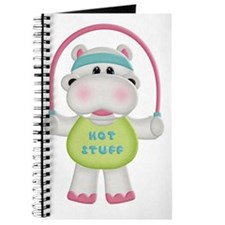 cute hot stuff workout hippo Journal