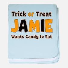 Jamie Trick or Treat baby blanket