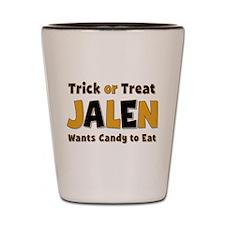 Jalen Trick or Treat Shot Glass