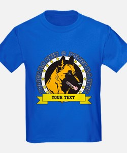 Personalized K9 Unit Belgian Malinois T