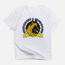 Personalized K9 Unit Belgian Malinois Infant T-Shi