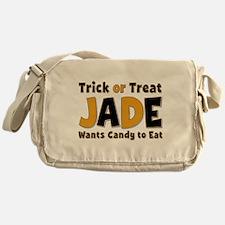 Jade Trick or Treat Messenger Bag