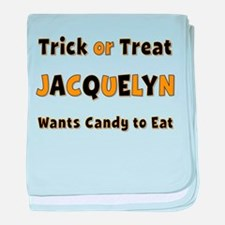 Jacquelyn Trick or Treat baby blanket
