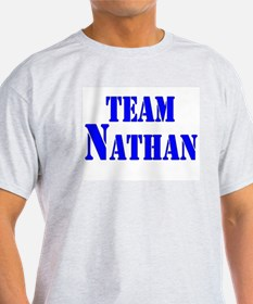 Team Nathan Ash Grey T-Shirt