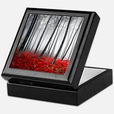 Winter Forest Keepsake Box