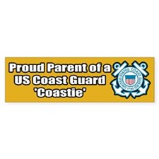 Coast Guard Parent Bumper Bumper Sticker