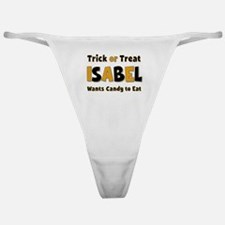 Isabel Trick or Treat Classic Thong