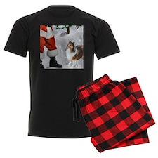 Shetland Sheepdog Christmas pajamas