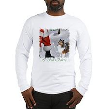 Shetland Sheepdog Christmas Long Sleeve T-Shirt