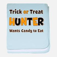 Hunter Trick or Treat baby blanket