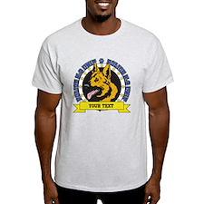 Personalized K9 German Shepherd T-Shirt