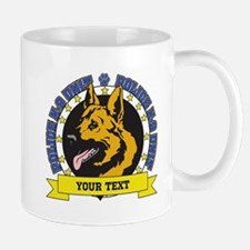 Personalized K9 German Shepherd Mug